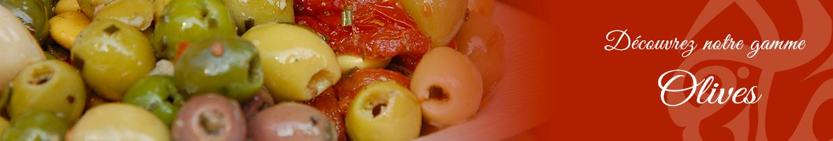 Olives en seaux