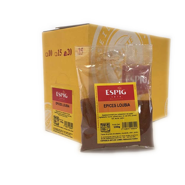 EPICES LOUBIA - 20X100g