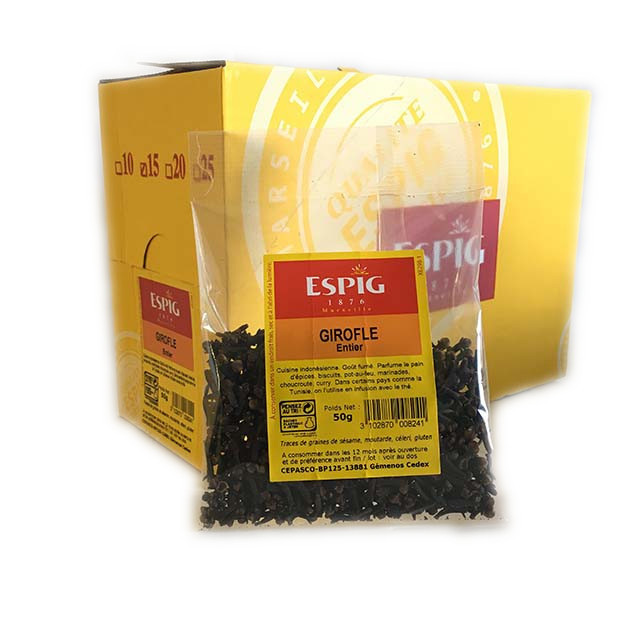 GIROFLE ENTIERE - 15x50g