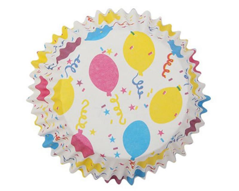 Bakers @ Home - Papier cupcake ballons - 10x50