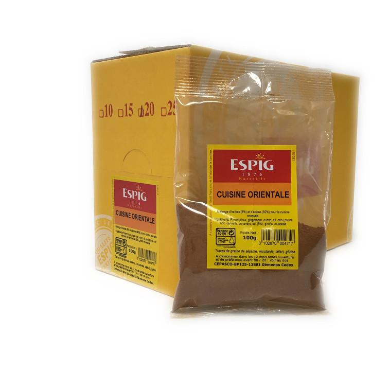 Cuisine orientale 20x100g for Cuisine orientale