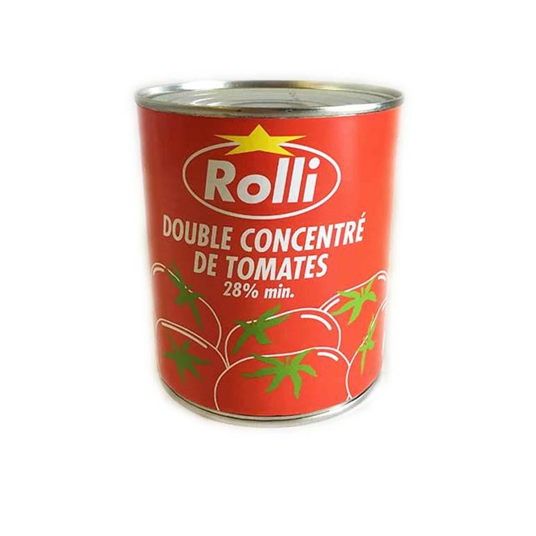CONCENTRE DE TOMATE ROLLI 4/4 12X880G