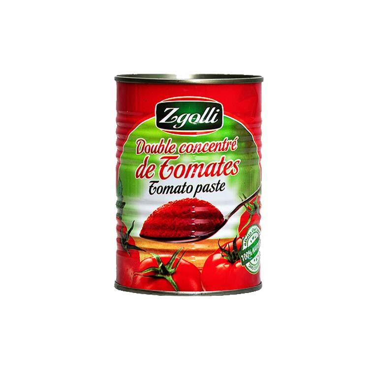 Double Concentré de Tomates Tunisie ZGOLLI 1/2 x 24