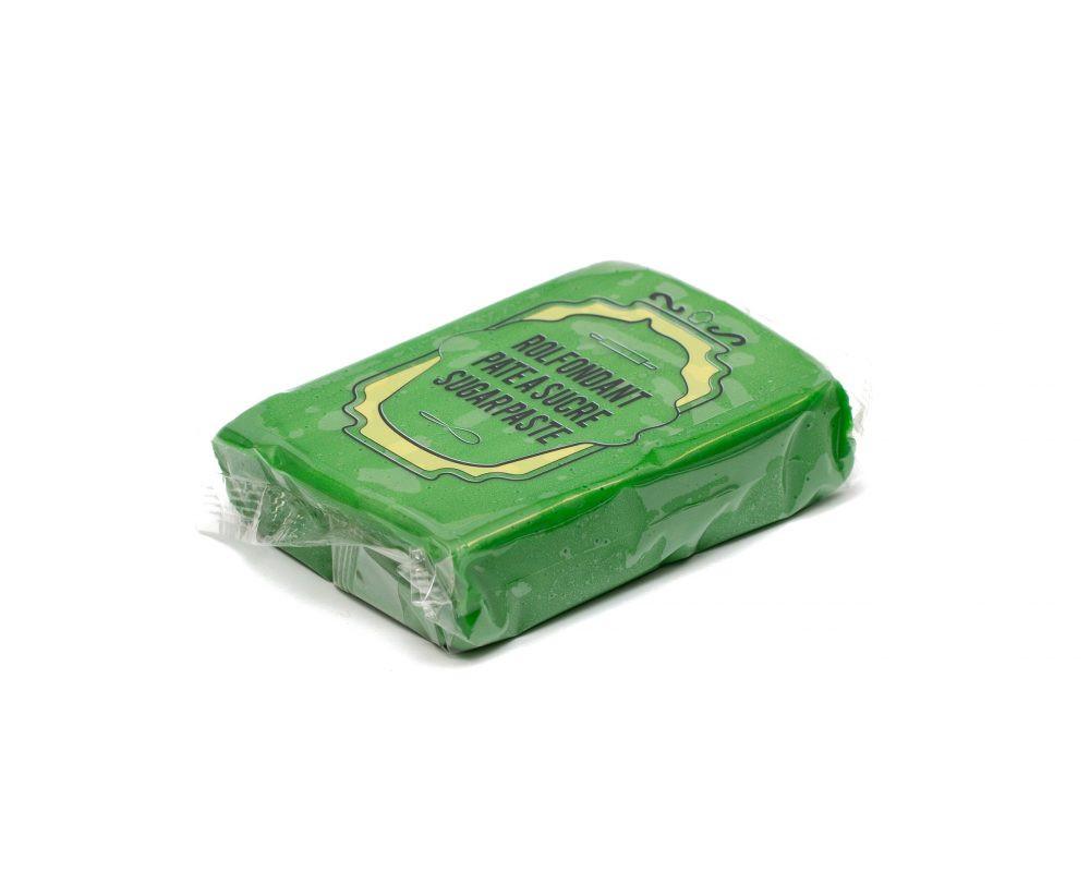 Pate a sucre - Vert herbe - 8x150G