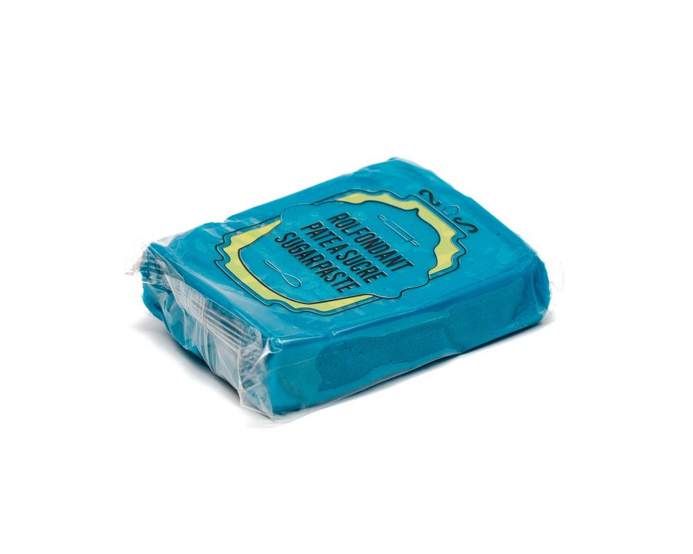Pate a sucre - Bleu Aqua - 8x150G
