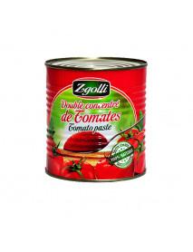 Double Concentré de Tomates Tunisie (Cap Bon) ZGOLLI 4/4 x 12