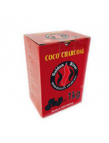 CHARBON CUBE GOLDEN RIVER COCO CHARCOAL