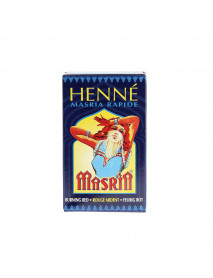HENNE MASRIA (COL. ROUGE ARDENT) x10