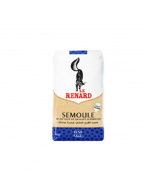 SEMOULE DE BLE DUR - LE RENARD - 10 x 1 KG - FINE