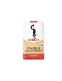 SEMOULE DE BLE DUR - LE RENARD - 10 x 1 KG - MOYENNE