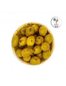 Barquette Olives - Cassées vertes à la Provençale 19/21 - 18 x 225g