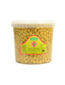 OLIVES SAFAA - PICHOLINES DENOYAUTEES A L'AIL 22/25 6KG