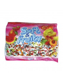 Bonbons tendres fruits assortis 14x600g