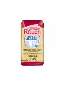 SEMOULE DE BLE - ROUEN - 12 x 1 KG - EXTRA FINE
