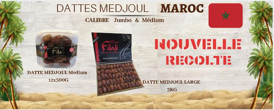 Dattes Medjoul du Maroc