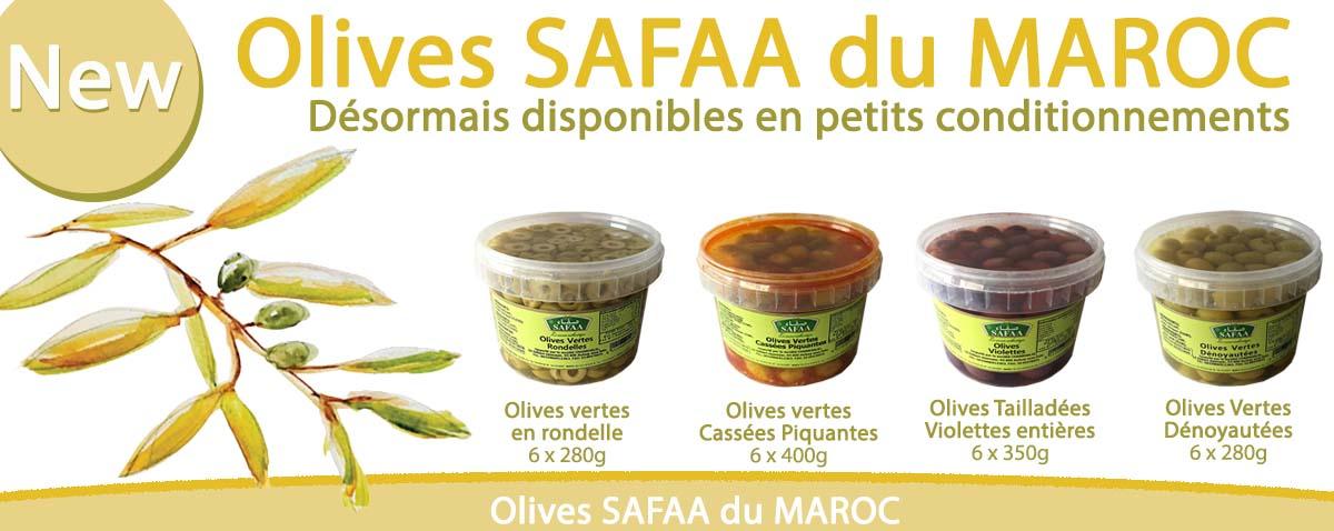 SAFAA Olives PET