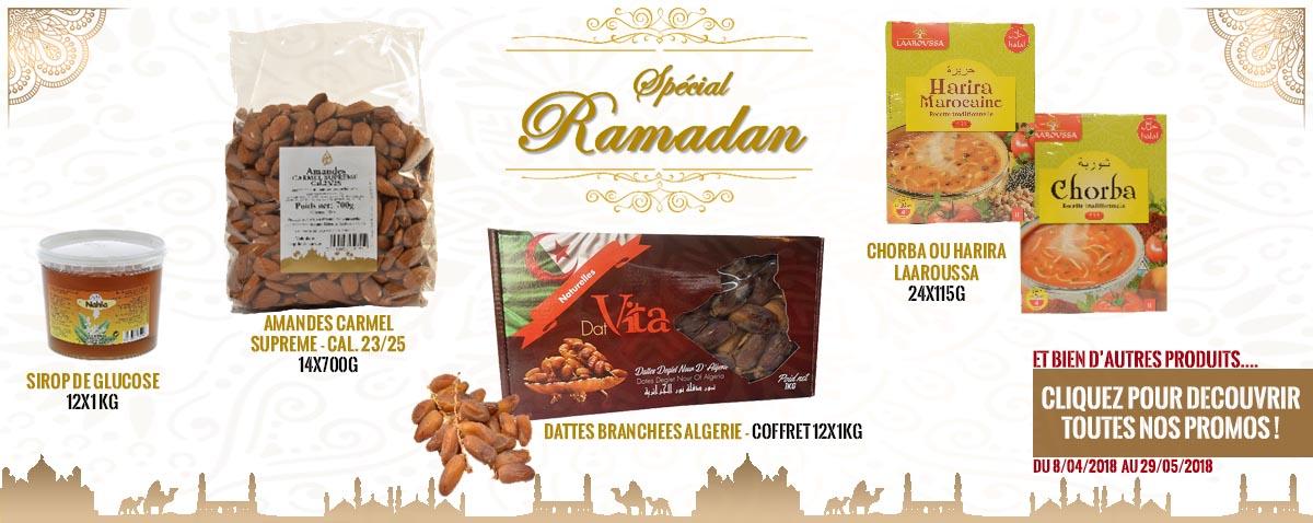 Promo Ramadan 2019 - Saveurs Orientales