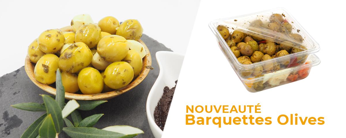 Nouveaute Meyva Barquette Olives
