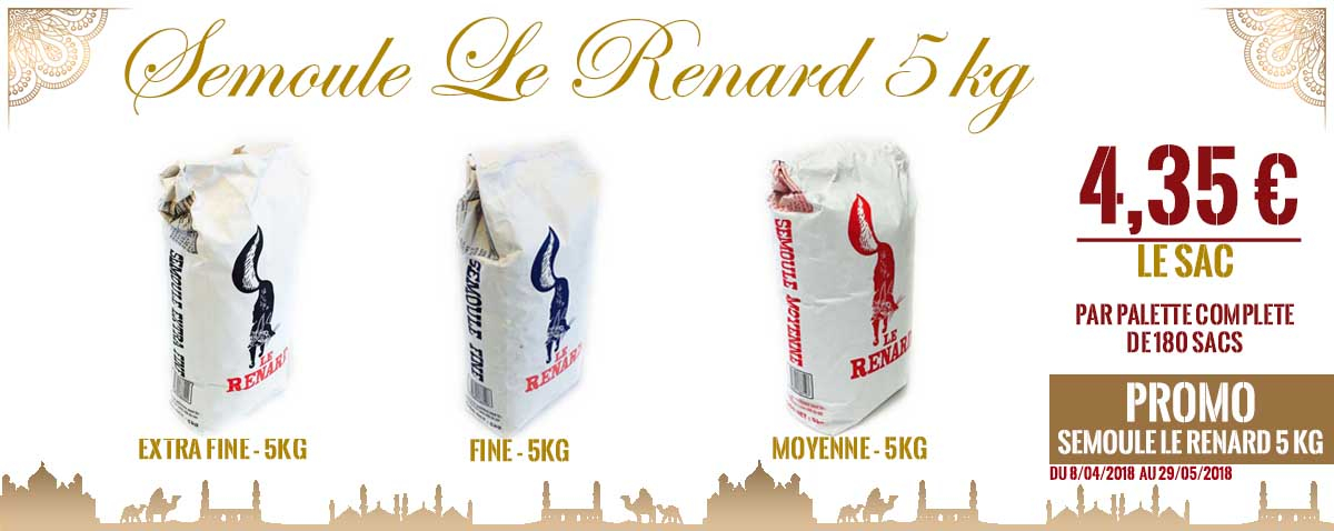 Promo Le Renard Ramadan 2019