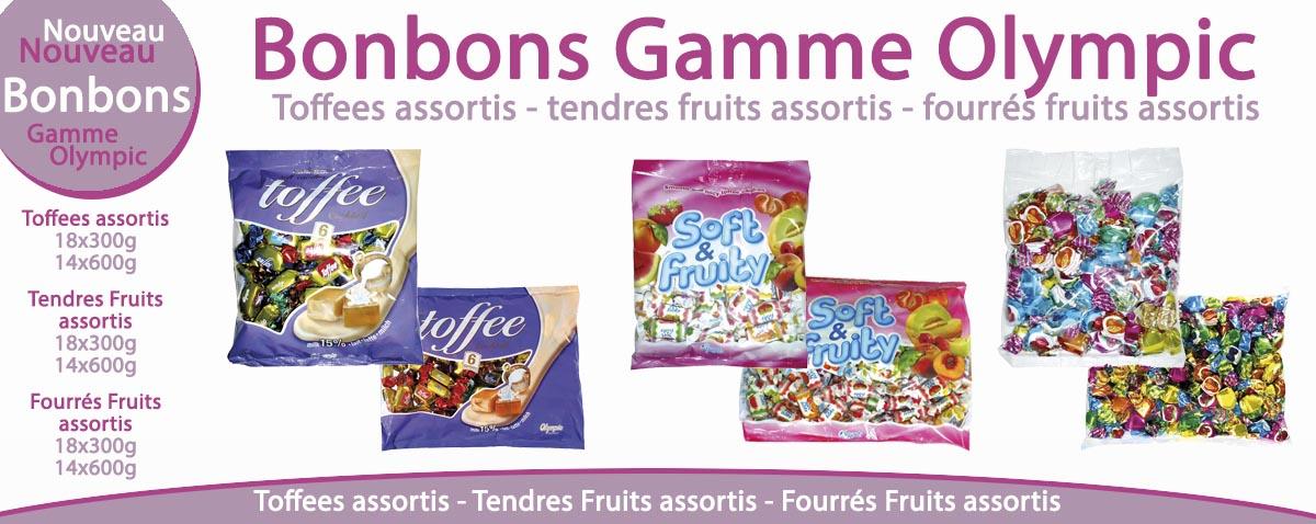 Bonbons Gamme Olympic